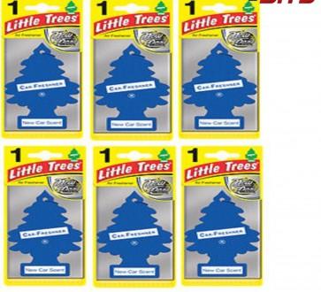 6 x NEW CAR Scent  Magic Tree Little Trees Car Home Air Freshener Freshener