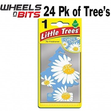 24x Magic Tree Little Tree Daisy Chain Scent Fragrance Car Van Air Freshener