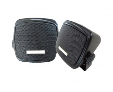 J-Audio 2x 60Watt Surface Mount Speakers Car For Rear Shelf Deck Dash Roof Etc