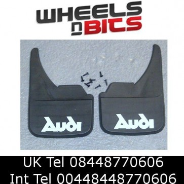 Universal Car Mudflaps Front Rear Audi Name S2 S3 S4 S5 S6 S7 S8 Mud Flap Guard