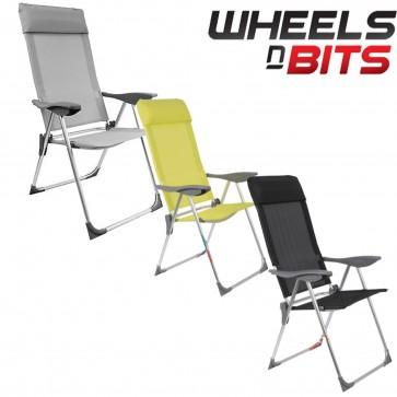 Large Strong Heavy Duty Camping Caravan Garden Sun Chair Seat Stool Light Weight