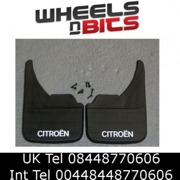 Citroen Logo Universal Van Mudflaps Front Rear Berlingo C2 C15 Mud Flap Guard