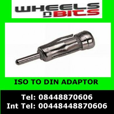 PC5-27 for ISO TO DIN ANTENNA ADAPTOR FOR FORD FOCUS, FIESTA, KA Escort MONDEO