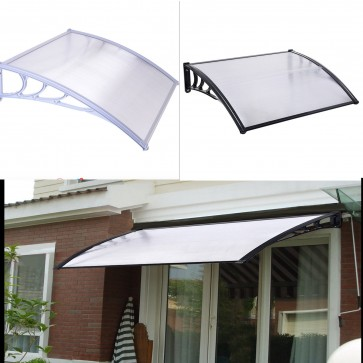 NEW Window Door Sun Canopy Hollow Sheet Awning Polycarbonate UV Rain Protection