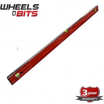 NEW Spirit Level Ribbed 48 Inch (120cm) Aluminium Ruler Builders Milled Face P44