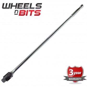 """3/4"""" Drive Breaker Bar Power Flexi Knuckle Tommy Bar 1000mm 40"""" 1 Metre XL Long"""