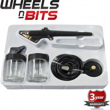WNB Mini Air Brush Kit Design Work Craft Car Model Touch Up Spray Gun Auto