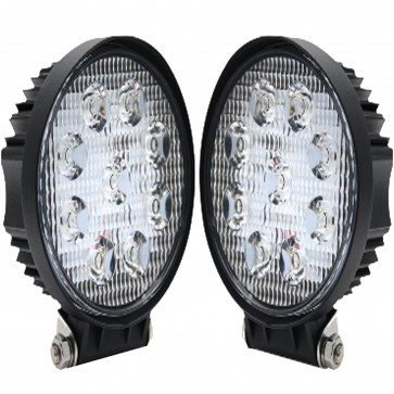 """New WNB 2x 4"""" 10cm Led Work light for Car Van Truck Tractor in 12 or 24 Volt"""