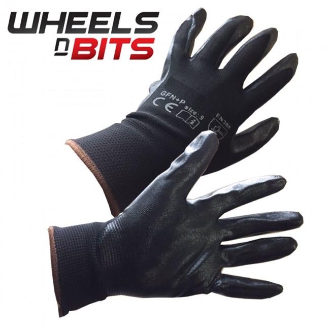 New 12 36 Pairs Foam Nitrile Coated Work Gloves Anti Slip Grips Pam Glove 24