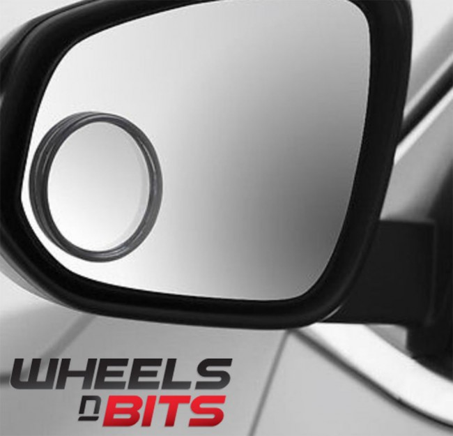 Blind Spot Mirror Round Stick On Extra Angle Easy Reverse Aid For Mercedes