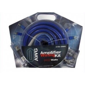 3000Watt 0Awg 0 Gauge Subwoofer Amp Amplifier Wiring kit 150amp Anl Fuse zero