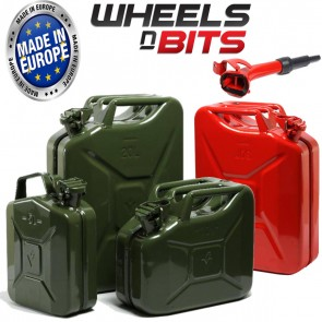HIGH QUALITY METAL POWER COATED INSIDE AN OUT JERRY CAN 5L 10L 20L LITRE CANS