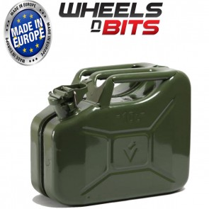 NEW 10 LITRE GREEN JERRY MILITARY CAN FUEL OIL WATER PETROL DIESEL STORAGE TANK