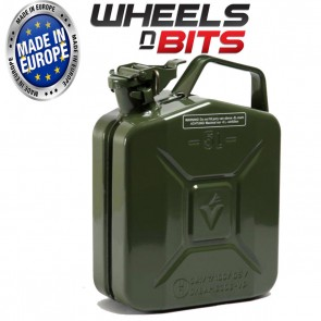 New High Quality Metal Power Coated Inside An Out Jerry Can 5L Litre Can