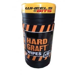 NEW HARD GRAFT INDUSTRAIL HAND WIPES ANITBACTERIAL 90 LARGE WIPES  TO A TUB