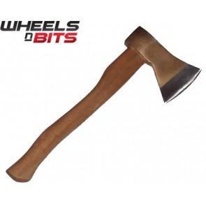 New 1.5LB Hand Axe - Ash Wooden Handle Log Fire Wood Chopper Camping