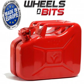 NEW 10 L RED JERRY MILITARY CAN FUEL OIL WATER PETROL DIESEL STORAGE TANK