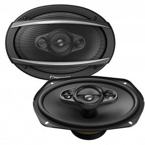 """Pioneer TS-A6980F 6x9"""" inch 4 way 650 watt Each Rear shelf Car speaker 1300W Set"""