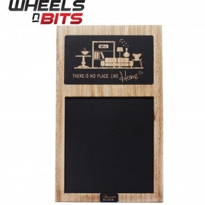 Trendy Blackboard Chalkboard Wooden panel with print Memo board Pubs Bar Kitchen