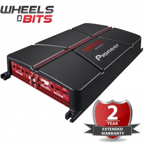 Pioneer GM-A6704 1000 Watt 4-Channel Bridgeable Amplifier Car Speakers Subs Amp