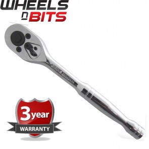 "Wheels N Bits Professional Quick Release Ratchet Wrench 1/4"" Inch Drive High Quality"