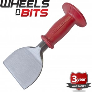 """Wheels N Bits 4"""" Bolster Pro Carbon Steel Rubber Grip Professional New Protective Hood Tool"""