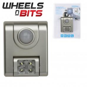 Grundig LED PIR MOTION SENSOR CORDLESS SECURITY WALL LIGHT DOOR GARAGE CUPBOARD