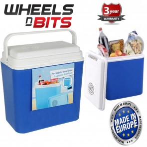 New 22L Litre 12V Cool Box Large Cooler Box Camping Picni Beach Ice Food