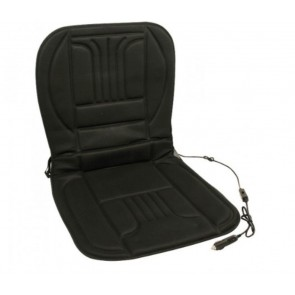 NEW 12 Volt Car Van Heated Seat Cover Thermo Cushion With Fuse Switch Thermostat