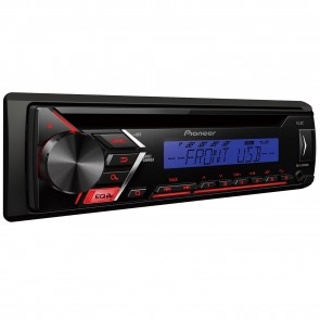 NEW Pioneer deh-s100ubb Car Van Stereo Radio USB CD Receiver with FRONT AUX-IN