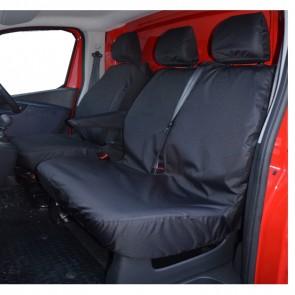 WNB® Vauxhall Vivaro 14> 100% Fit Tailored Heavy duty Leather Van Seat Cover