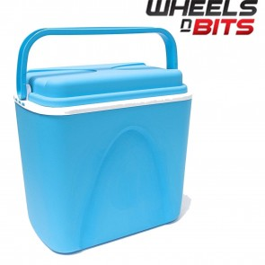 WNB® 24 Litre Insulated Ice Cooler Box Ideal For Camping Picnic Beach Lid Handle