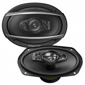 "Pioneer TS-A6990F 5 Way Deep 6""x9"" Inch Car Van Speakers Rear Shelf 1400W Pair"