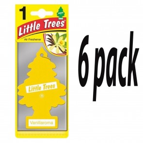 6x Vanillaroma Scent  Magic Tree Little Trees Car Home Air Freshener Freshener