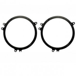 SAK-1106 Audi A6 TT 165mm Front & Rear doors speaker adaptor kit rings fitting
