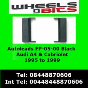 Autoleads FP-05-00 Audi A4 1995 to 1999 Black Fascia Facia Adaptor Panel Surround