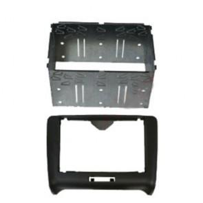 Wheels N Bits DFPK-05-1 fits Audi TT 2007> on Black Double DIN Fascia Facia Adaptor Panel Kit