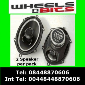 "Vibe slick57-v1 5""x7"" Inch 210 Watt Car Speakers fits Ford Jaguar Mazda Doors"