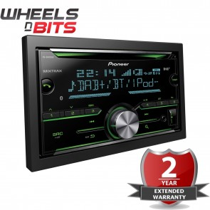 Pioneer FH-X840DAB 2-Din Bluetooth Spotify DAB/DAB+ USB CD Aux iPhone Android