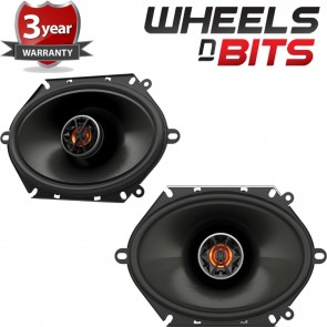 "New JBL Club 8620 6""x8"" 5""x7"" 2-Way Replacement Component Car Speaker 330W Total"