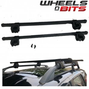 Wheels N Bits Roof Rail Bars Locking Type 60 Kg Rated For Chrysler Voyager 1996-2007