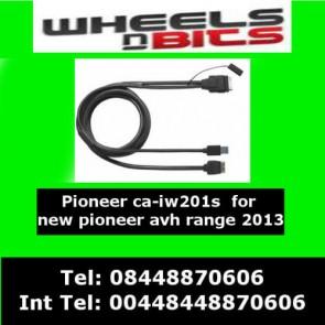 Wheels N Bits CA-IW.201S iPod iPhone 4/4S Usb Advanced App Lead For Pioneer Avh-X3500Dab