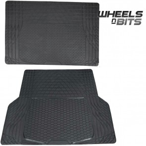 Subaru Forester BRZ RUBBER CAR BOOT LINER MAT UNIVERSAL PROTECTOR L OR XL