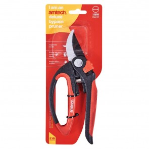Amtech New Heavy Duty Deluxe Bypass Pruner Garden Non Stick Cutting Trimming Secatuers