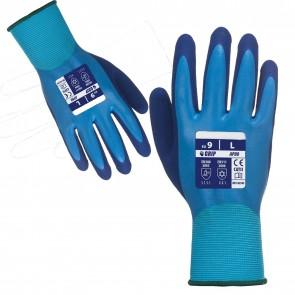 Wheels N Bits 3 6 12 Pair of Work Gloves Liquid Pro Glove Water proof work Grip Double Coated