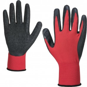 Portwest 12 24 36 pair of Super Flexi Work Builders Gloves Latex Foam size 8 9 10 11 M L