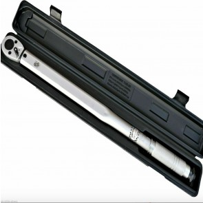 "Wheels N Bits 1/2"" Drive High Range Torque Wrench 50-250Ft/Lb 70-350Nm Ratchet Case Calabrated"
