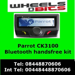 Parrot CK3100 Bluetooth Handsfree Kit UK Black Edition ck-3100
