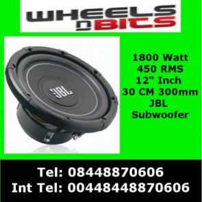 "JBL MS-12SD4 1800 Watt 12"" Inch 30 CM Car Subwoofer Dual 4 Ohms 450 RMS"