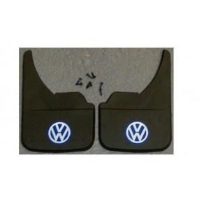 VW Volkswagen Blue Universal Van Mudflaps Front Rear Golf LT Multivan Polo Guard